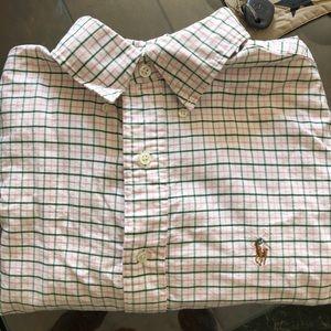 Men's Ralph Lauren long sleeve dress shirt